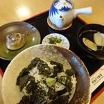 はまぐり食道 - しぐれ茶漬け定食(1,800円)