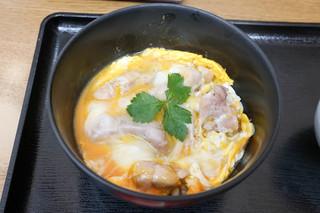 鳥めし 鳥藤 豊洲市場 - 塩親子丼