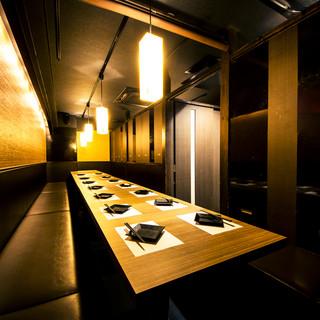 【立川宴会に最適♪】種類豊富な和個室が宴会シーンを彩ります。
