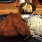ます道庵 - チキンカツ 450円