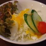 ゆき亭 - サラダ