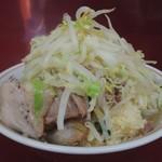 ラーメン二郎 - 料理写真:【再訪】ラーメン(野菜,ニンニク)