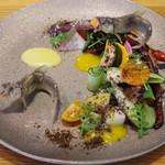 リストランテ ナカモト - 天龍鮎と季節のお野菜
