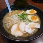 麺屋 とり壱 - 濃厚醤油鶏白湯らーめん+特製(全部のせ)
