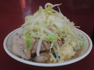 ラーメン二郎 相模大野店 - 【再訪】ラーメン(野菜,ニンニク)