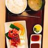焼肉の栄亭 - 料理写真:カルビ定食1000円