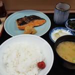 魚竹 - 銀鮭定食