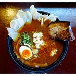 Ramen おこじょ - 料理写真:「札幌MISO特製チャーシュー麺」(2017.06)