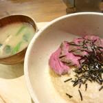 kawara CAFE&DINING - とろろローストビーフ丼