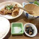 kawara CAFE&DINING - 唐揚げ定食