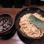 つけ麺処 つぼや - 黒味噌つけ麺(大)