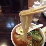 XI'AN刀削麺 - 麺リフト