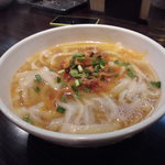 XI'AN刀削麺 - 豆板醤で和えたネギチャーシュー麺