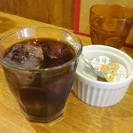 ポパイ - ランチのアイスコーヒー