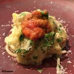 71574190 - 島根県産の漁師さんの粒海胆と緑ナスのスパゲティ
