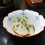 71575381 - 前菜の豆腐