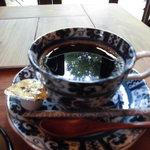 71576537 - 伊豆高原の緑を浮かべたブレンドコーヒー