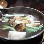 喰善 あべ - ブータン産松茸 クエ