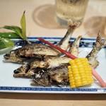 割烹天竜 - 料理写真:塩焼き