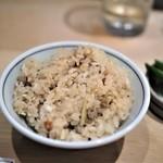 割烹天竜 - 鮎ご飯