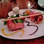 71579324 - 前菜・豚と鶏レバのパテ
