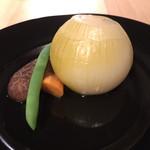 食と農の交流エクセレントローカル - 宮城の無農薬玉ねぎ白出汁煮