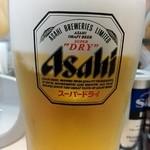 東秀 - 生ビール¥290