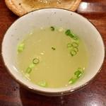 義常 - 〆の鳥スープ