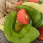 CarneTribe 肉バル - 三浦野菜のアップ