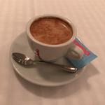 71588894 - 食後のドリンクはカフェラテを。コーヒー、カプチーノ、カフェラテ、エスプレッソなど選択肢も多い。