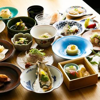 接待や会食におすすめ|季節料理を堪能できるコースを3種ご用意