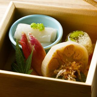 見た目も美しく、味わい豊かな丁寧な料理…福井県美浜町の海の幸