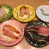 廻鮮寿司 しまなみ - 料理写真:生赤エビ、エビ、サーモン大トロ炙り、生ずわい蟹、イカ