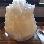 スイッチトマト - 料理写真:ゆずかき氷 540円