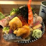 江戸富士 - (上)海鮮丼