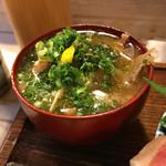 江戸富士 - あら汁