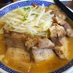 豪ーめん - 料理写真:味噌豪一めん 豚入り(中) 990円