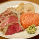 おでん一平 - 時鮭、マグロのセトロ、白貝