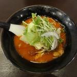 麺弥 七福鈴 - 辛白湯ラーメン 橙