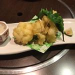 味膳 まさむね - はも天ぷら