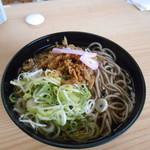 北九州駅弁当 ぷらっとぴっと 4号売店 - かしわ蕎麦♡