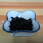 きむら - 定食の小鉢のひじきの煮物