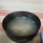きむら - あさりのみそ汁アップ