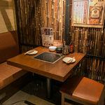しゃぶ八 なべ五郎 - 【宴会向きの席】テーブル席 2~10名様
