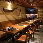 しゃぶ八 なべ五郎 - 【宴会個室】テーブル個室~25名様