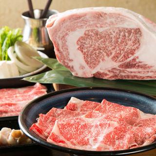 厳選した上質なお肉を、しゃぶしゃぶでお楽しみください!