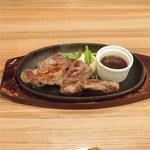 ジャクソンステーキ&グリル - ジャクソンステーキ(150g) 1382円 のジャクソンステーキ(150g)