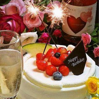 誕生日や記念日に!特製デザートプレート無料サービス◎