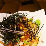 Bar cafe Ciel  - 根菜サラダ