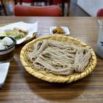 白樺食堂 - ざるそば以外はサービス